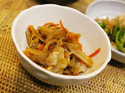 金針菜のキンピラ煮
