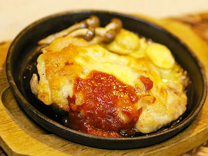 鶏のチーズ焼き